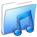 Aqua-Smooth-Folder-Music-icon