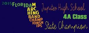 FMBC 2015 State Champion Banner