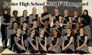 2016 JHS JV Winterguard