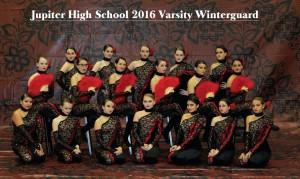 2016 JHS Varsity Winterguard