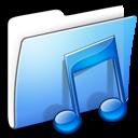 Aqua-Smooth-Folder-Music-icon