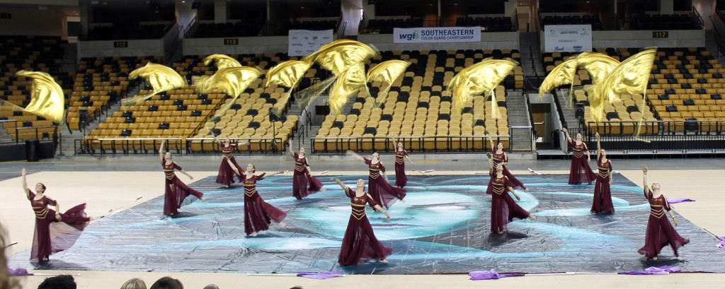 WGI Southeastern Color Guard Championships at UCF - March 24, 2013 (Photo by Pam Crider)
